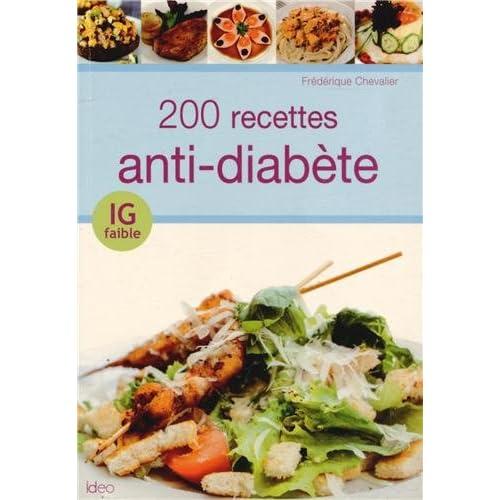 200 recettes IG antidiabète