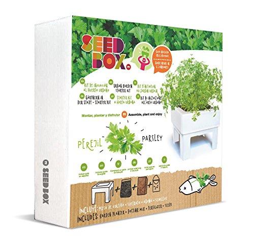 SeedBox SBMCUPE Huerto Urbano Cultívame Mini - perejil