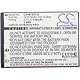 Replacement battery for MY150x, MY220x, MY220v, MY226x, MY411v, MY411x, MY411xi, MY500c, MY501c, MY401z, MY405x, MY501X, MY411v, MY511x, MY200v, MY226v, MY501CI