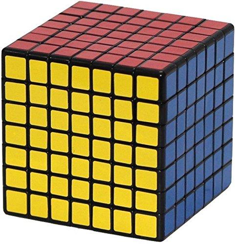 Shengshou 7x7 Cube Black Twisty Magic Puzzle (1 Piece)