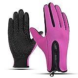 WANGYINBO Women Men Cycling Gloves Touch Screen Winter Outdoor Sport Bike Glove Man Full Finger Bicycle MTB Gloves