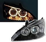 AD Tuning GmbH & Co. KG 960591 Angel Eyes Scheinwerfer Set, Klarglas Schwarz