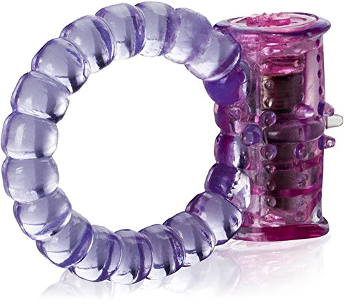 Love69Toys - Ring mit Vibrationen und stimulierenden Zungen Vibro Penisring Cockring