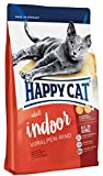 Happy Cat Indoor Adult Voralpen-Rind, 1er Pack (1 x 10 kg)