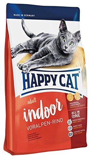 Happy Cat Indoor Adult Voralpen-Rind, 1er Pack (1 x 4 -