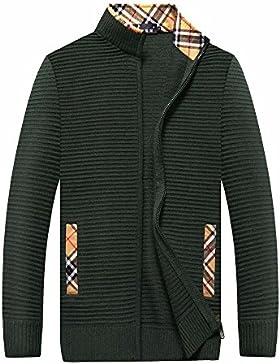 MEI&S Los hombres calientes postal del grueso suéter Cardigan tejido Knitwear abrigo chaqueta
