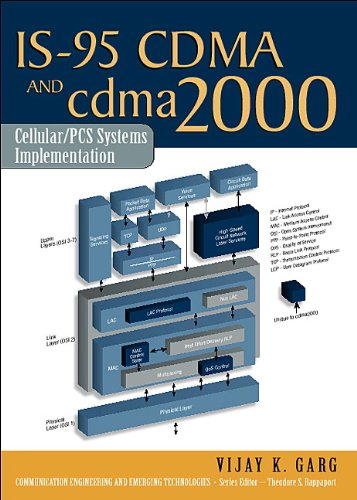 IS-95 CDMA and cdma2000: Cellular/PCS Systems Implementation (Prentice Hall Communications Engineering and Emerging Technologies Series from Ted Rappaport) (English Edition) Cdma-serie