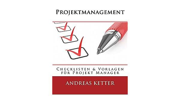 Projektmanagement: Checklisten & Vorlagen für Projekt Manager ...