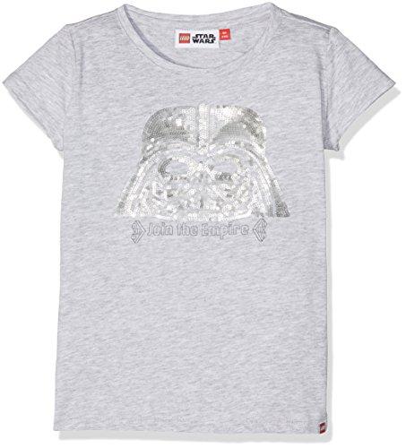 LEGO Wear Mädchen Star Wars Tallys 353-T-Shirt Grau (Grey Melange 912), 122 (Mädchen Aus Star Wars)