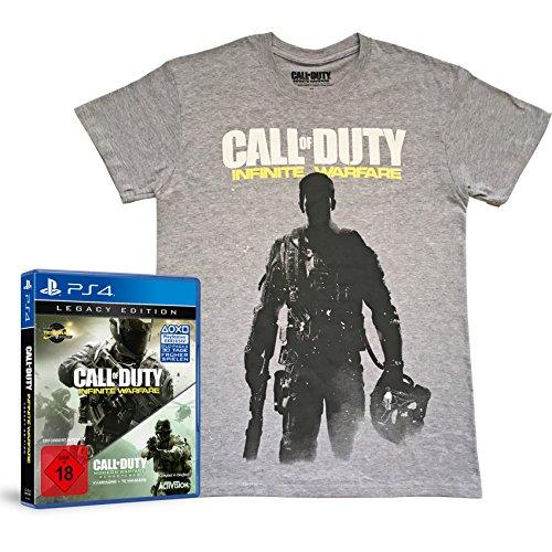 Call of Duty: Infinite Warfare - Legacy Edition inkl. T-Shirt, Größe L (exkl. bei Amazon.de) - [PlayStation 4]