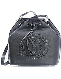 Versace Jeans Bolso de hobo negro