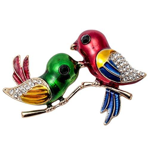 aille Valentine Tag Kristall Paar Neugeborene Vogel Brosche Pin Kostüm für Ihre (Liebe Vogel Kostüme)