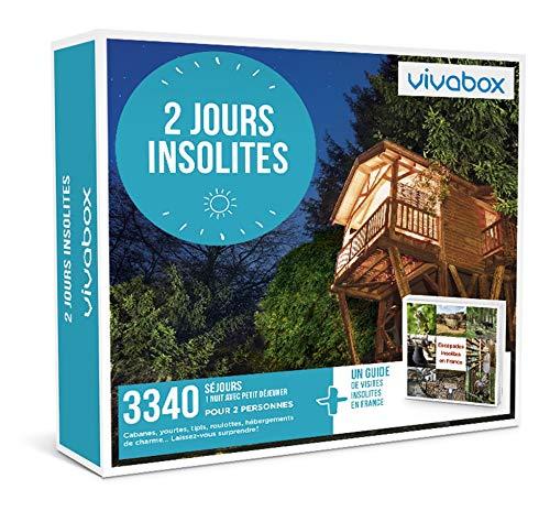 Vivabox - Coffret cadeau couple - 2 JOURS INSOLITES - 3340 week-ends insolites + 1...