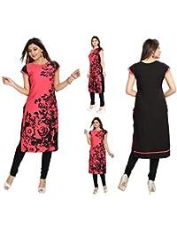 670a52ee5c0d6 Unifiedclothes Women Fashion Fancy Indian Kurti Tunic Kurta Top Shirt Dress  SC2409