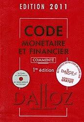Code monétaire et financier (1Cédérom)