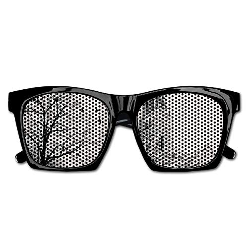 Mesh Sunglasses Sports Polarized, People Passing By St-Germain-des-Pres Area Medieval Europe Parisian Winter,Fun Props Party Favors Gift Unisex
