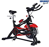 #5: Leeway NB-S3 Exercise Fitness Spin Bike For Home Gym/Elliptical Trainer
