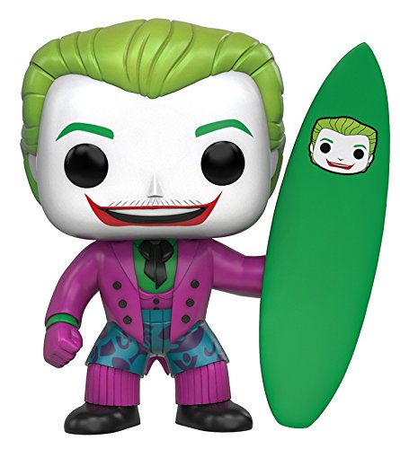 Funko - Figurine DC Heroes - Joker Surf Pop 10cm - 0889698108676