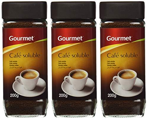 Gourmet - Café soluble - Tueste natural - 200 g - [Pack de 3]