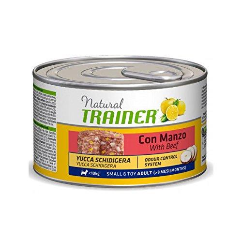 Trainer Natural Dog Adult Small und Toy Rind und Yucca 150gr -