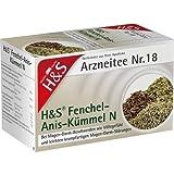 H&S Fenchel-Anis-Kümmel N Arzneitee Nr. 18, 20 St. Filterbeutel