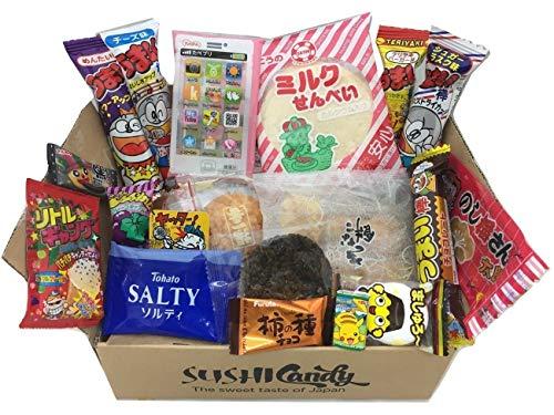 Japanische Süßigkeiten Sortiment 20 Süßigkeiten japanische Sortiment Geschenk