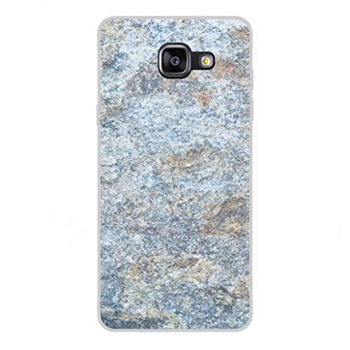 Todo Phone Store Custodia Cover [Disegno] Silicone TPU Gel [Tessitura 037] per [Samsung A5 (2016) A510F]