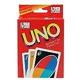 FUNTOK UNO Gioco di carte Gioco Partito 108 Cartes