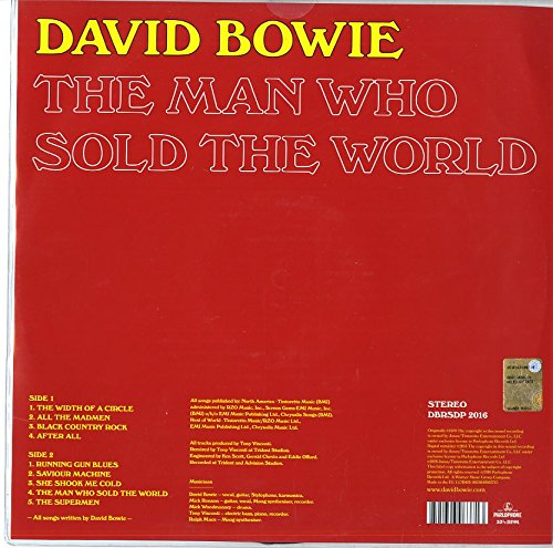 Man Who Sold the World,the [Vinilo]