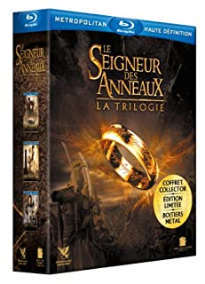 Le Seigneur des Anneaux : La trilogie. Boitier métal [Blu-ray] [Édition Limitée et Numérotée] (B003BGAT0G) | Amazon price tracker / tracking, Amazon price history charts, Amazon price watches, Amazon price drop alerts
