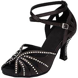 Zapatos de BAILE Negro MINITOO