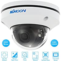 "KKmoon 1080P 2'' Cámara Domo 2.1MP AHD CVI TVI CVBS PTZ 1/2.9"" para Sony CCD Sensor 2.8-8mm Auto-foco Varifocal Zoom 3 IR LED CCTV Sistema Seguridad PAL"