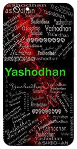 Yashodhan (Rich In Fame) Name & Sign Printed All over customize & Personalized!! Protective back cover for your Smart Phone : Moto X-STYLE