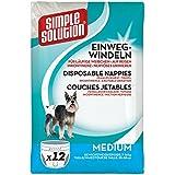 Simple Solution Hunde Windeln verschiedene Größen
