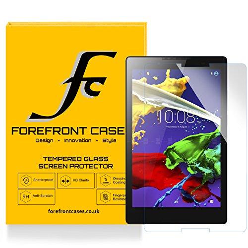 Forefront Cases® [HD CLARTÉ] Film de protection d'écran écran en verre trempé Glass Screen Protector pour Lenovo Tab 3 8 / Tab 2 A8-50 [ULTRA MINCE 0,3mm SEULEMENT]