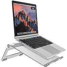 Soporte para Laptop,Nulaxy Soporte de Portátil Ajustable, Laptop Stand para 11-17