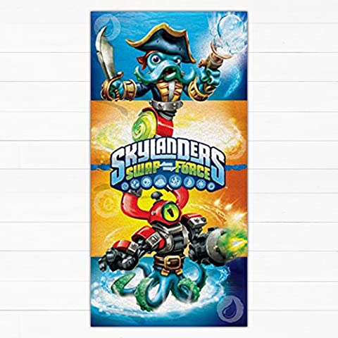DREAMTEX SKYLANDERS SWAP FORCE SERVIETTE DE BAIN