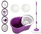 PAffy Plastic Magic Spin Mop - Purple