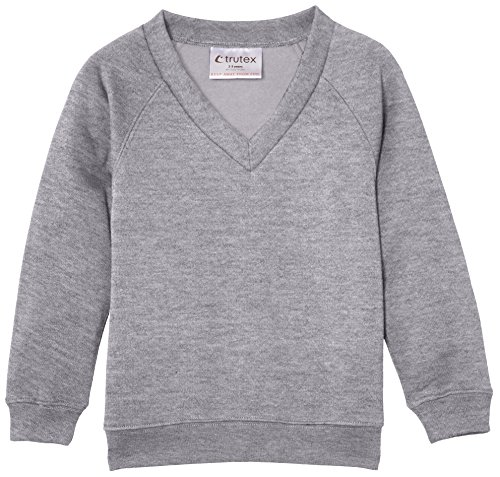 Trutex Limited Felpa Unisex-Adulto grigio (Marl Grey)
