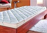 Mikrofaser Top Angebot Matratzenauflage, PREMIUM Matrazenschoner 95x200cm - Auch für Boxspring-Betten und Wasser-Betten geeignet | Unter-Bett | Matratzen-Auflage | Schonbezug - Schlafen wie auf Wolke 7