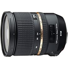 Tamron A007E SP 24-70 mm F/2.8 Di VC USD - Objetivo para Canon (distancia focal 24-70mm, apertura f/2.8, estabilizador óptico, macro, diámetro: 82mm) negro