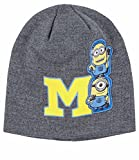 Jungen Minions Despicable Me Knit Hat, Grau