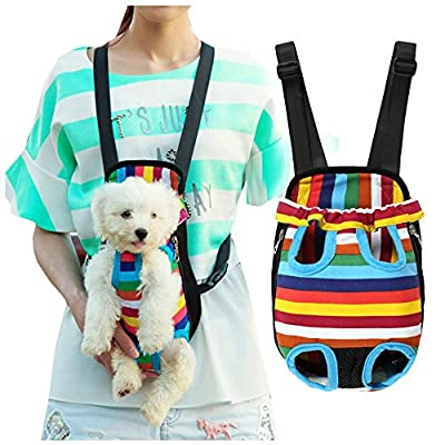 Dog Carriers Portable Convenient Lightweight Outdoor Travel Pet Carrier Free Your Hands Safe to Carry Your Pet