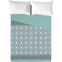 BCN Brand Mosaico - Juego de sábanas para cama de 180 cm