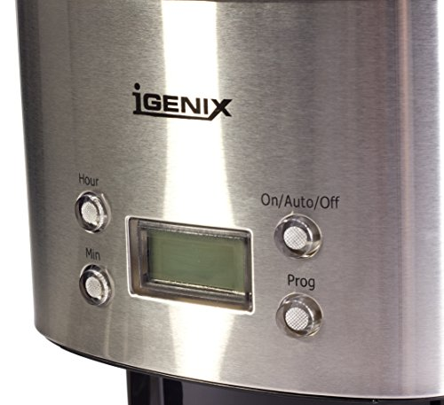 51d94vg kSL - Igenix IG8250 Digital Filter Coffee Maker, 12 Cup Carafe, Automatic 24 Hour Timer and Keep Warm Function, Removable…