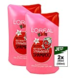 L'Oreal Kids Strawberry Very Berry Shampoing 2x 250ml Shampoing (500ml)–pour Enfant