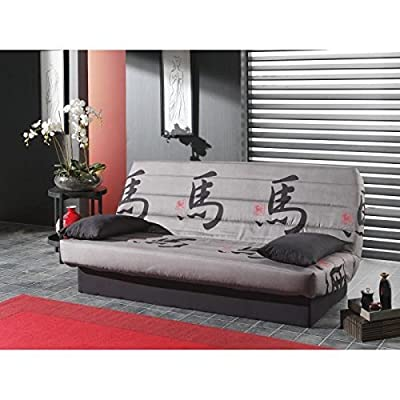 Coco Seat Sofa Bed-Click clac fabric 3 Seater-tokyo - cheap UK sofabed store.