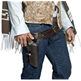 Smiffy's Authentic Western Wandering Gunman Belt and Holster
