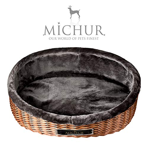 MICHUR Lounge, Cesta malaca, Sauce marrón, sofá