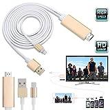 asiproper 8Pin 2m Apple Lightning auf HDMI HDTV AV Kabel Adapter für iPhone 66S 5S 5